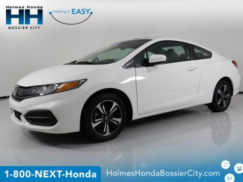 Certified Pre-Owned 2015 Honda Civic Coupe EX
